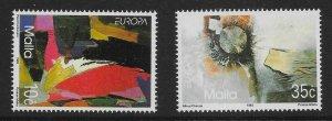 MALTA SG938/9 1993 EUROPA SET MNH