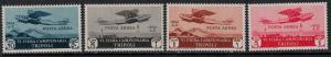 Libya 1932 SC C4-C7 Mint Set SVC$ 208.00