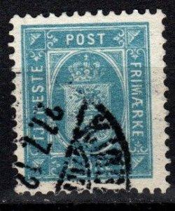 Denmark #O13 F-VF Used  CV $4.50 (V5391)