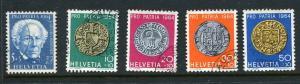 Switzerland #B334-8 Used (Box1)