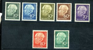 GERMANY #755-61 MINT F-VF OG LH Cat $38