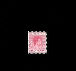 BAHAMAS - 1952 - KG VI - KING GEORGE - PROFILE - # 154 - MINT MNH SINGLE!
