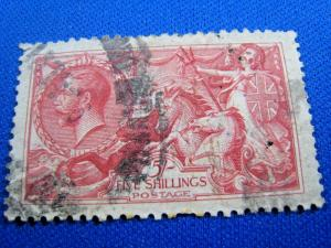 GREAT BRITAIN - SCOTT # 180  -  Used     (alb17)