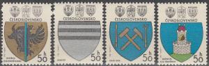 Czechoslovakia #2297-2300 MNH (K1207L)