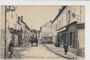 France Valmondois Picture UNUSED Stamps Post Card Ref 32117
