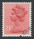 Great Britain SG X965 Sc# MH122    Used with first day cancel - Machin 23p