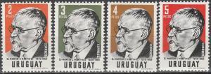 Uruguay #653-6 MNH F-VF CV $7.85 (V1534)