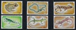 Fiji Scott 554-559 Mint Hinged