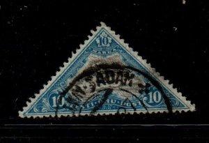 Estonia Sc C15 1925 10m  monoplane Airmail  stamp used