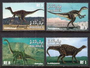 Maldive Islands 2373-2376 Dinosaurs MNH VF