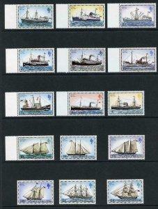 Falkland Is SG331B/45B Ships 1982 imprint U/M