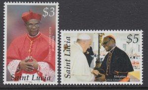 St Lucia 1293-1294 MNH VF
