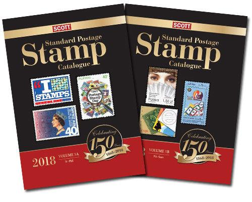 2018 Scott Standard Postage Stamp Catalogue, Volume 5 A/B (Countries N-Sam)