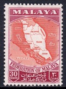 Malaya - Scott #83 - MH - SCV $1.50