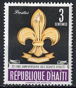 Haiti; 1962: Sc. # 491: **/MNH Single Stamp