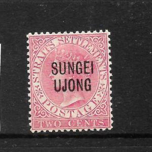 SUNGEI UJONG  1885-90   2c   QV     MH   SG 42