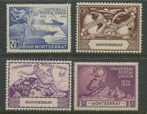 STAMP STATION PERTH Montserrat #108-111 UPU Issue MNH