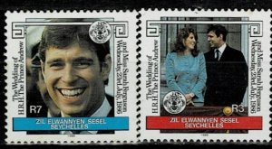 Seychelles 1986 Royal Wedding MNH