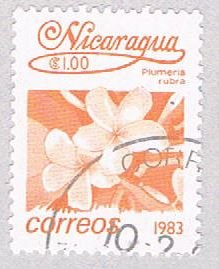 Nicaragua Flower orange 100 (AP108705)