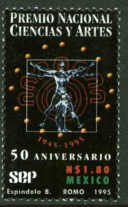 MEXICO 1949, National Arts and Sciences Award. MNH. VF. (69)