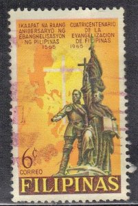 PHILIPPINES SC # 935 **USED** 1965  6s   SEE SCAN