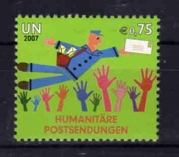 United Nations Vienna - Humanitarian Mail , MNH, Mi 512