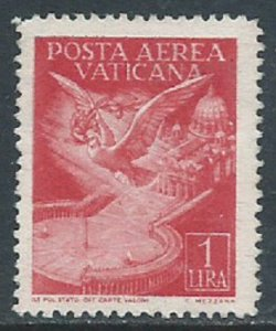 Vatican City, Sc #C9, 1 l, MNG
