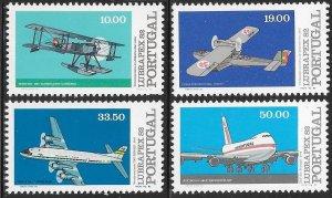 Portugal 1549-1552 MNH -  Lubrapex 82 Stamp Exhibit - Historic Flights