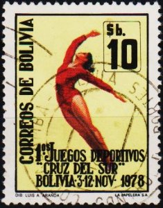 Bolivia. 1979 10p S.G.1034 Fine Used