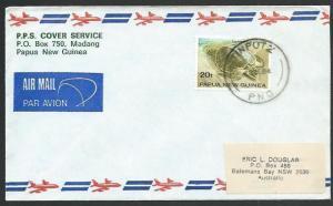 PAPUA NEW GUINEA 1974 cover TINPUTZ cds....................................59721