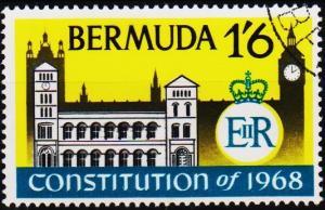 Bermuda. 1968  1s6d  S.G.218  Fine Used