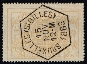 Belgium #Q12 Parcel Post & Railway; Used (2Stars)