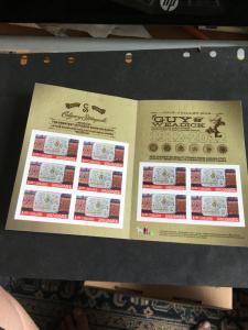 Canada USC #BK489 (#2548a) 2012 100th Anniv. Calgary Stampe Pane of Ten x $1.05