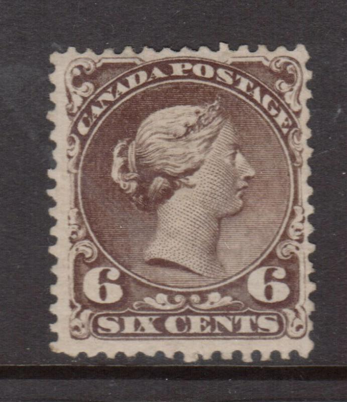 Canada #27 Very Fine Mint Partially Regummed **With Certificate**