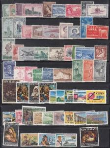 New Zealand Scott 269 // 414 Mint NH sets (Catalog Value $50.00)