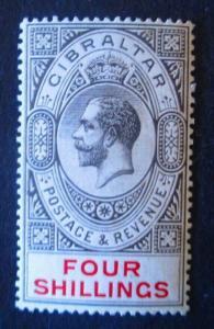 Gibraltar #73 Mint Hinged - (AZ5) WDWPhilatelic!