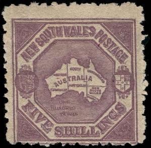 Australia / New South Wales Scott 85a Gibbons 261 Mint Stamp