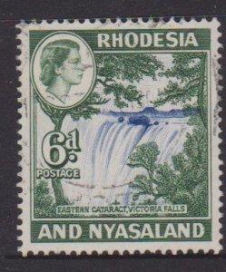Rhodesia and Nyasaland Sc#164 Used