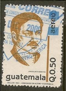 Guatemala  Scott  C864      Samayoa     Used