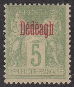 France - Offices in Turkey (Dedeagh) 2 MH CV $14.50