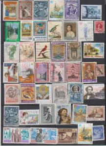 LOT OF DIFFERENT STAMPS OF VATICAN  USED (42) LOT#117
