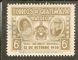 Guatemala  Scott C234   Visit of President   Used