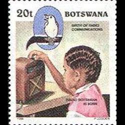 BOTSWANA 1996 - Scott# 598 Radio Cent. 20t NH