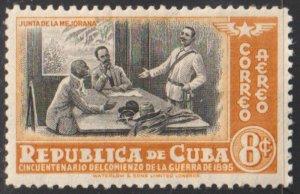 1948 Cuba Stamps C38 Conference of La Mejorana Marti,Gomez,Maceo MNH