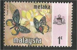 MALACCA , 1971, MNH 1c, Butterfly  Scott 74