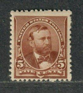 US Sc#223 M/NH/F+, OG, Cv. $185