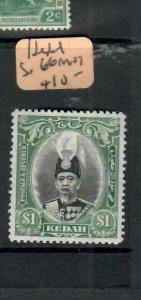 MALAYA  KEDAH (PP2706B)  SULTAN $1.00  SG 66   MOG
