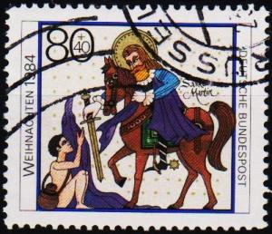 Germany. 1984 80pf+40pf S.G.2081 Fine Used