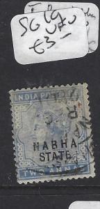 INDIA  NABHA   (P2508B)   QV 2A  SG 19   VFU