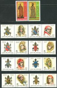 VATICAN Sc#1063-1094 Nine Sets & 1 S/s 1998 Year Complete Mint OG NH